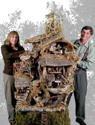 Fairy-house life size